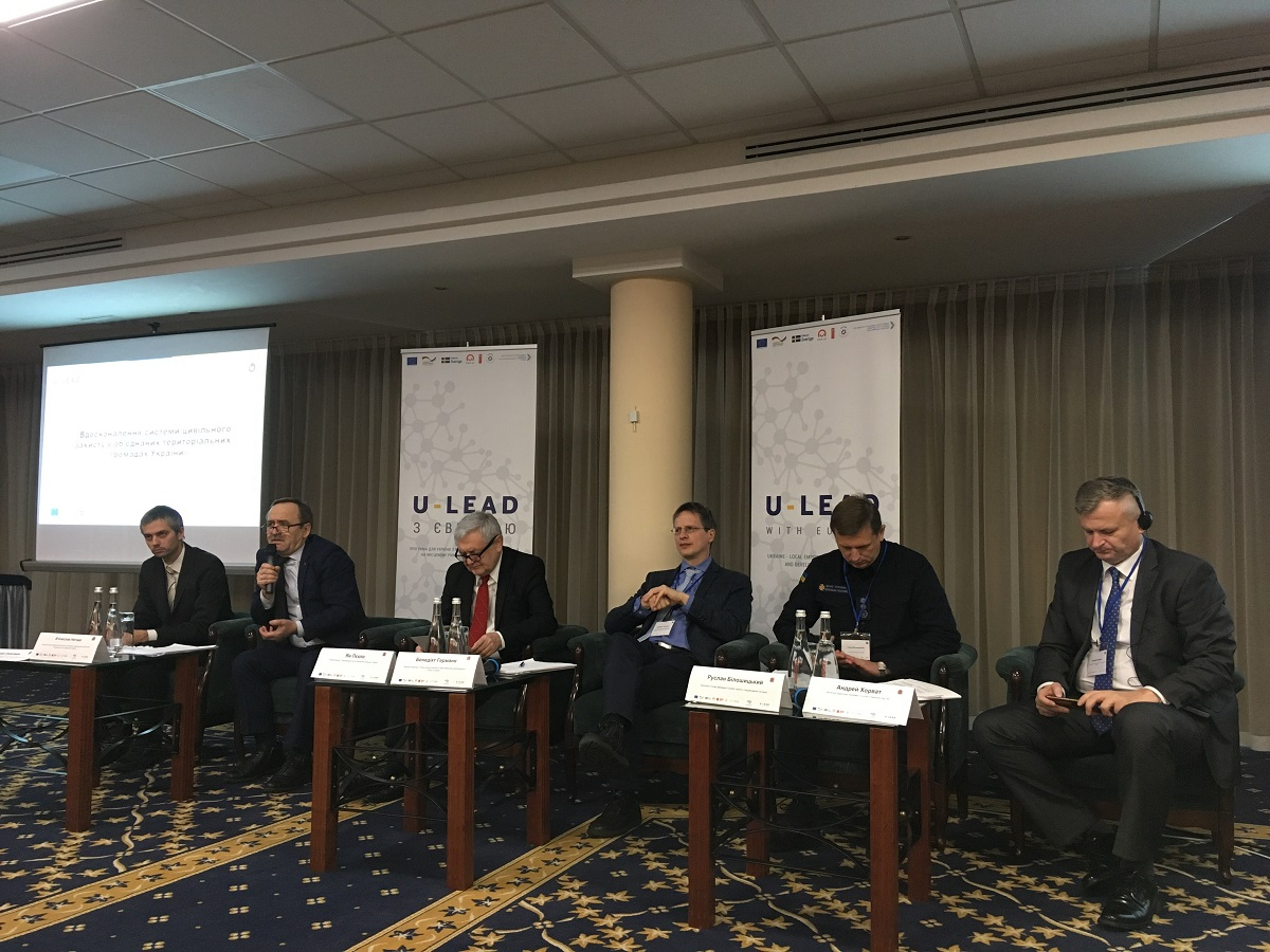 Local leaders should strive for hromada residents to feel secure, - Vyacheslav Nehoda