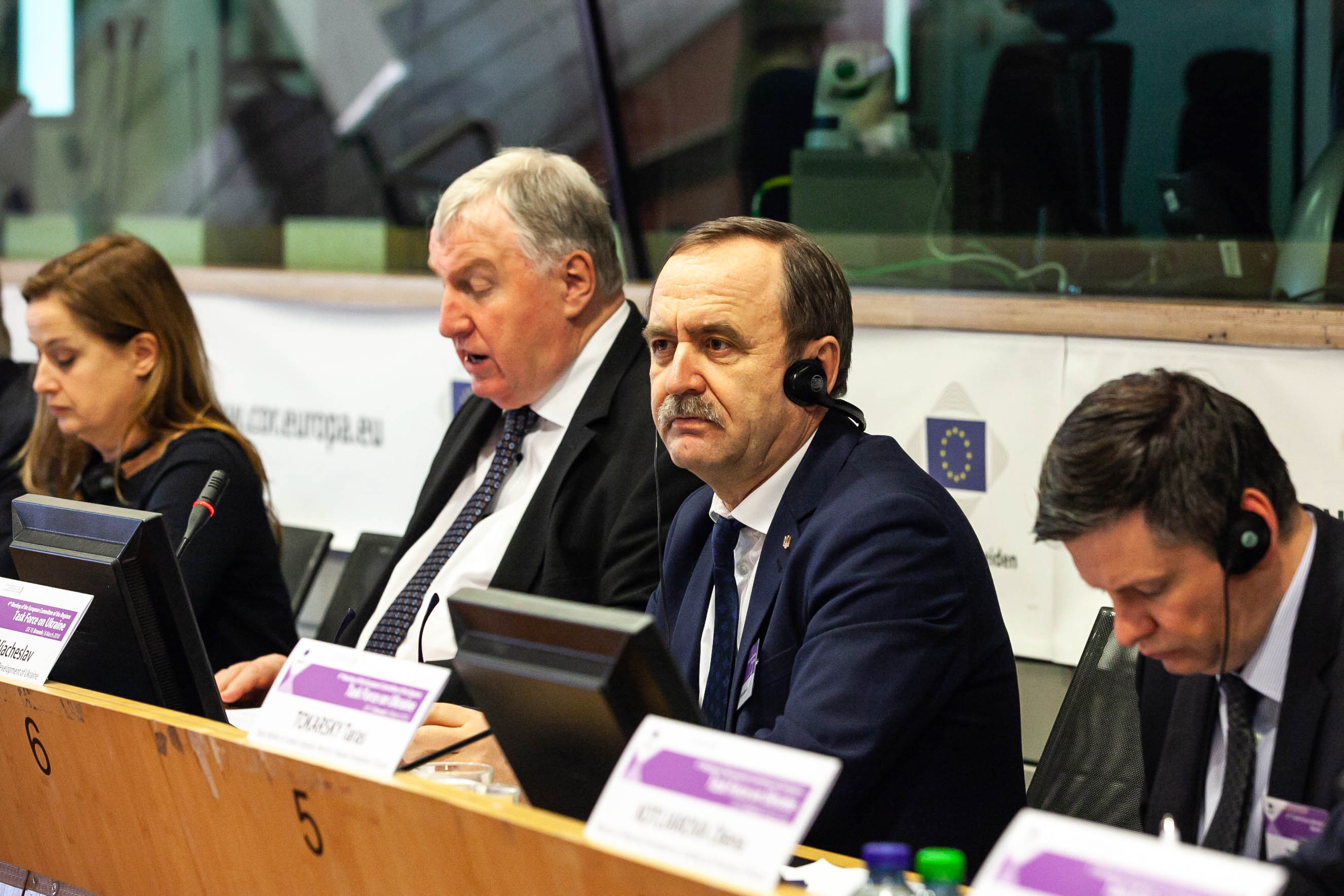 """""""Due to joint projects we will be able to extend European borders,"""" Vyacheslav Nehoda"""