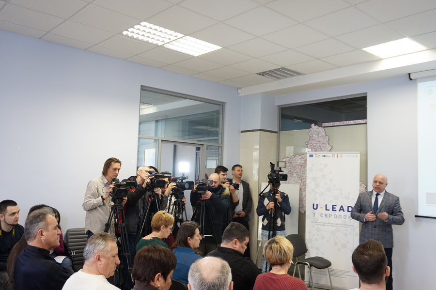 Ivano-Frankivska AH is developing a hromada charter at the very amalgamation stage