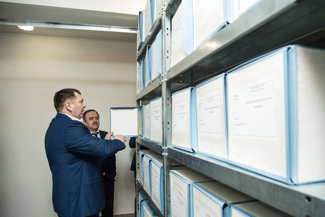 Partnership of state and local authorities can solve any issues of regional development, - Vyacheslav Nehoda on opening of State Archives in Ternopil Oblast