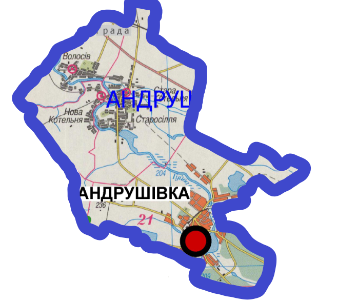 Hromadas of Andrushivka Rayon in Zhytomyr Oblast to finally form an AH