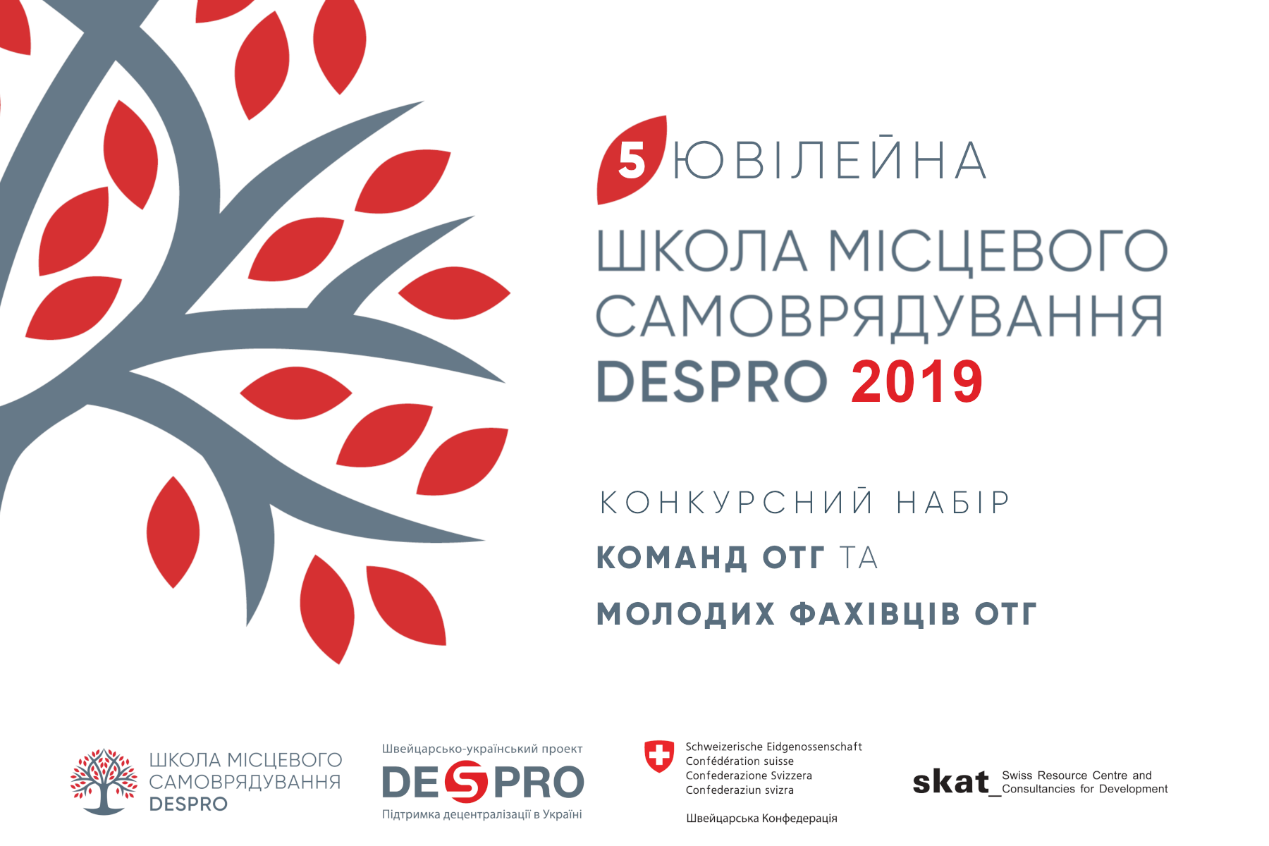 ATTENTION! Competitive selection to DESPRO Local Self-Governance School-2019 opened