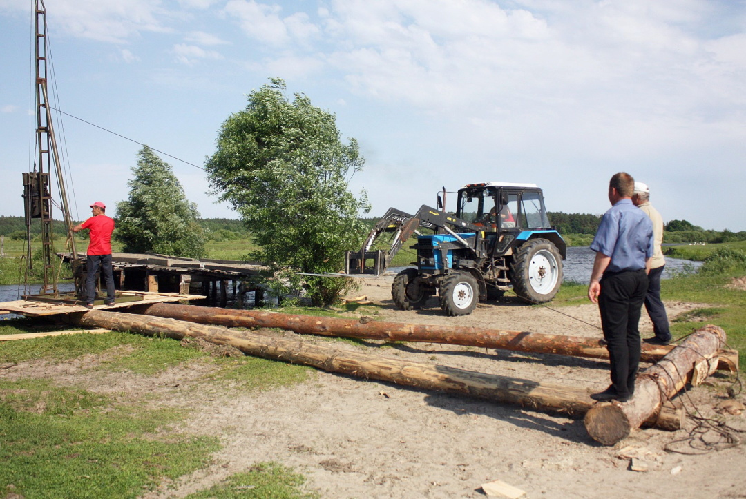 Horodnyanska AH in Chernihiv Oblast builds a new bridge