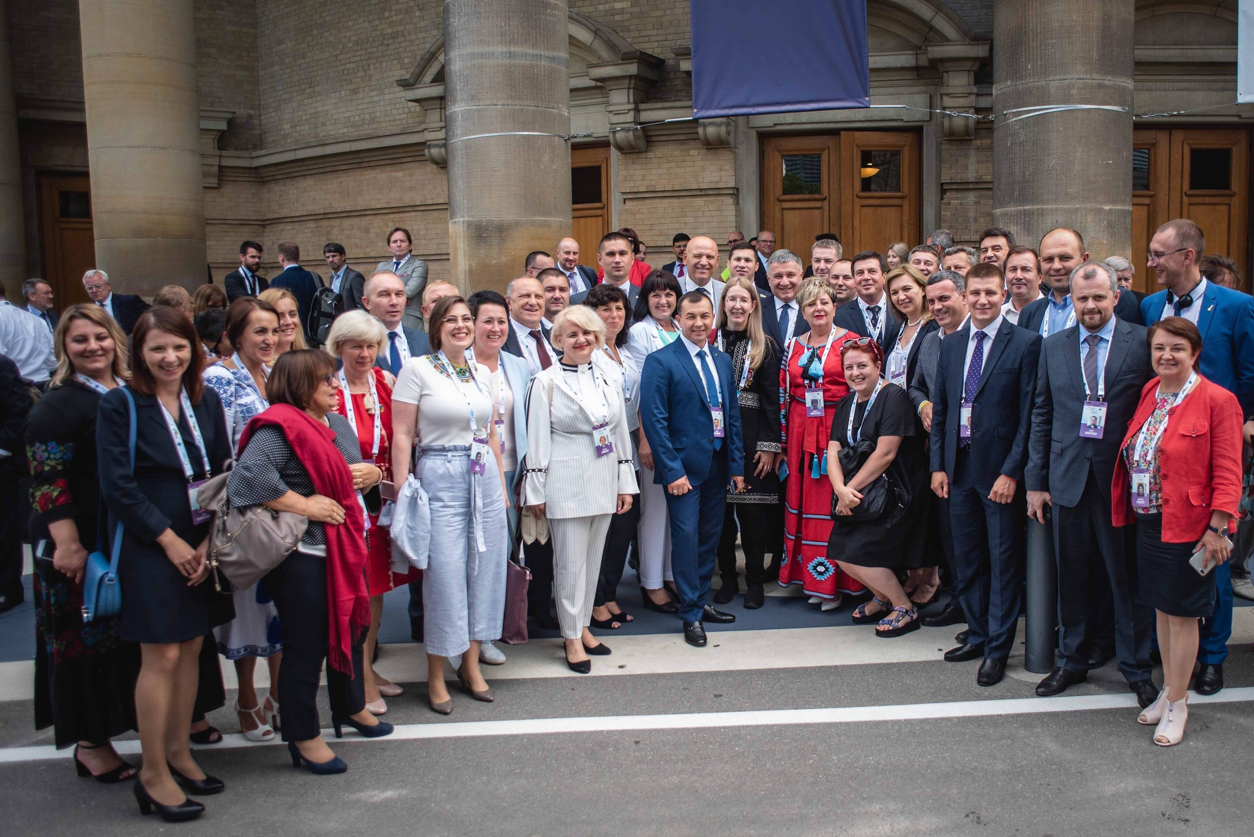Heads of hromadas, mayors of cities and starostas as ambassadors of the Ukrainian decentralisation reform at the Third Ukraine Reform Conference in Toronto.