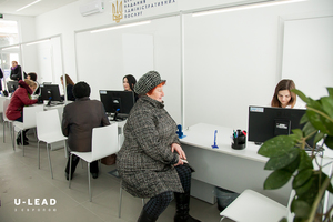 Thumb administrative service delivery at the mykolayivka asc built within u lead with europe programme