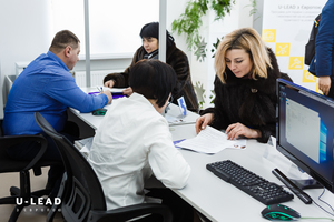 Thumb residents of zolotnyky receiving administrative services